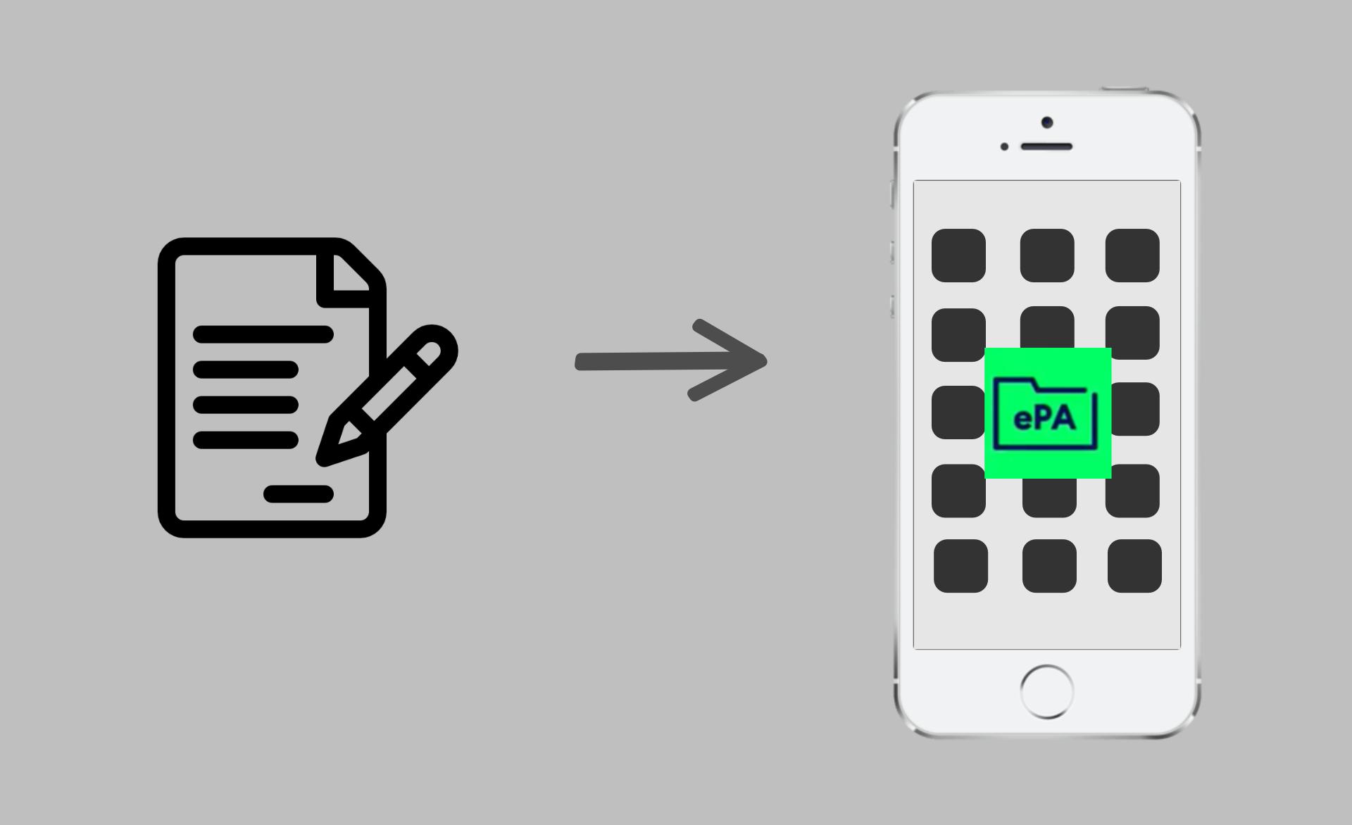 ePA – die elektronische Patientenakte
