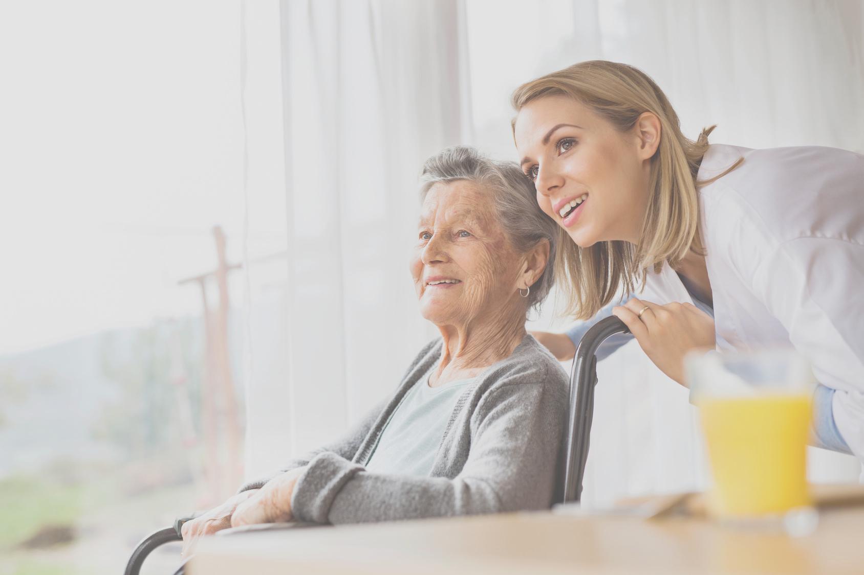 Besuche in Pflegeheimen weiterhin möglich