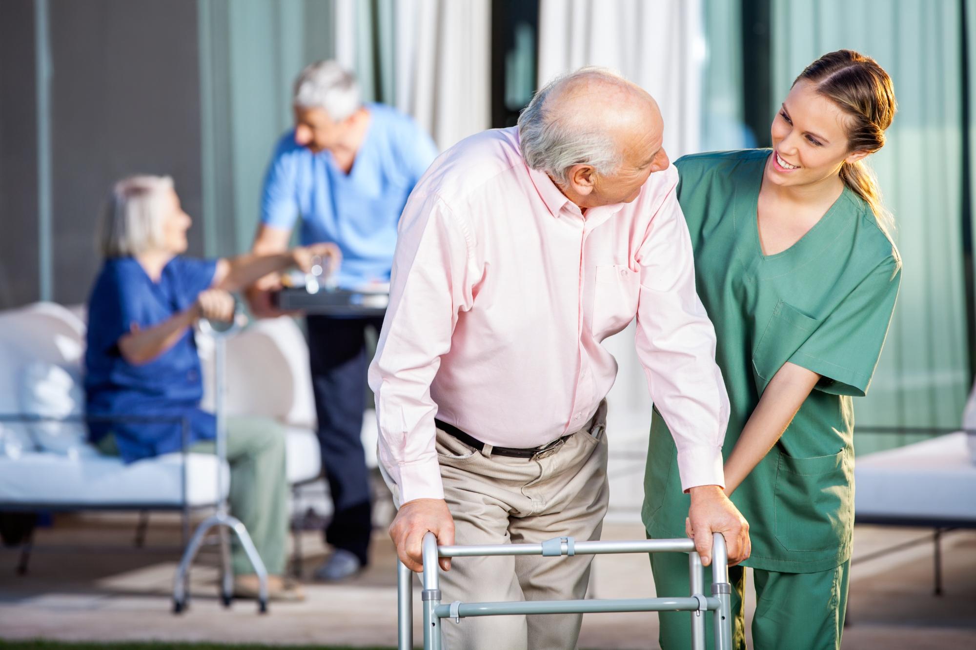In 2040 über 5 Mio. Pflegebedürftige